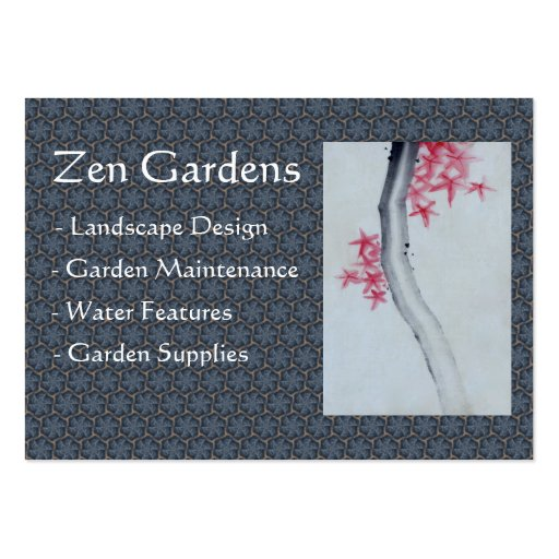 Feng shui business card templates zazzle for Feng shui business cards