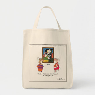 FENG SHUI by April McCallum Grocery Tote Bag