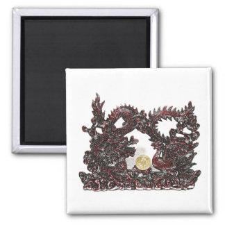 Feng Shui Dragon & Phoenix Magnet