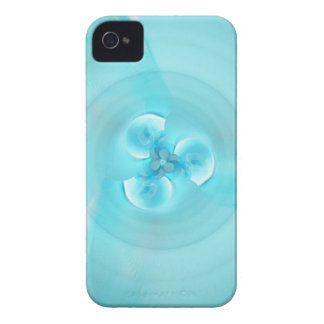 Feng shui lightblue created by Tutti iPhone 4 Cover