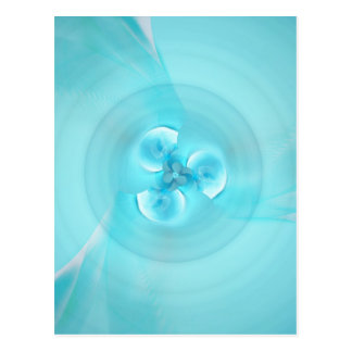 Feng shui lightblue created by Tutti Postcard