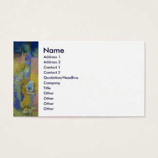 Feng Shui Parakeets Business Card