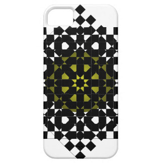 FengShui Fusion Army Green Black Geometric Hipster iPhone 5 Covers