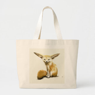 Fennec Fox Tote Bags