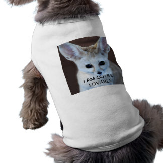 Fennec Fox Pet Tee