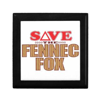 Fennec Fox Save Gift Box