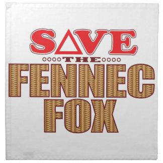Fennec Fox Save Napkin