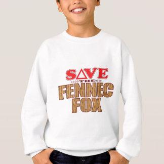 Fennec Fox Save Sweatshirt