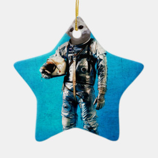 Fennec the captain christmas ornament