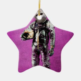 fennec the captain purple ceramic star decoration