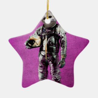 fennec the captain purple christmas ornament