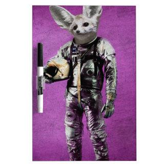 fennec the captain purple dry erase white board