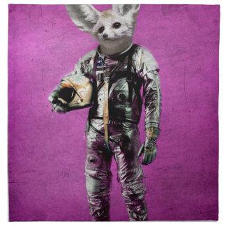 fennec the captain purple napkin