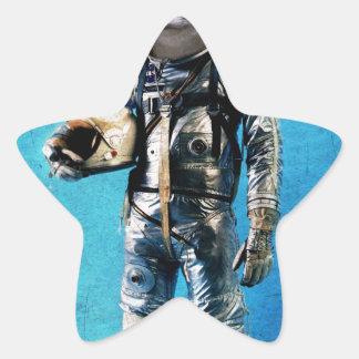 Fennec the captain star sticker