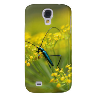 Fennel Flower And Blue Bug, South Africa Galaxy S4 Case