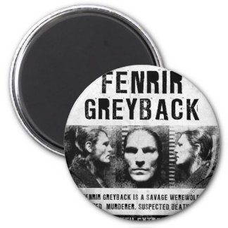 Fenrir Greyback Wanted Poster Magnet