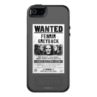 Fenrir Greyback Wanted Poster OtterBox iPhone 5/5s/SE Case