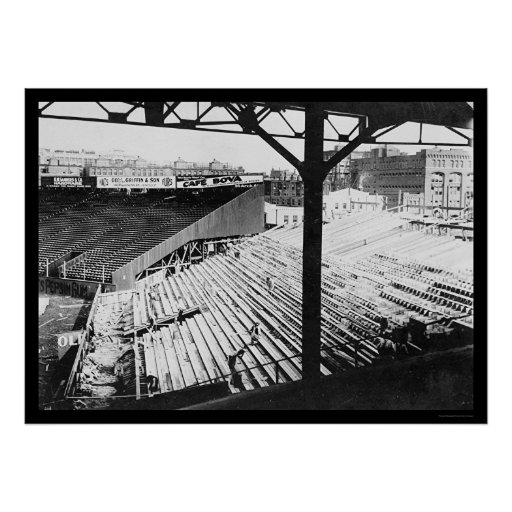 Fenway Baseball Park in Boston, MA 1912 Poster