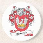 Fenwick Family Crest Beverage Coaster