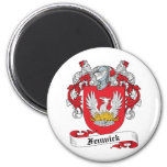 Fenwick Family Crest Magnets