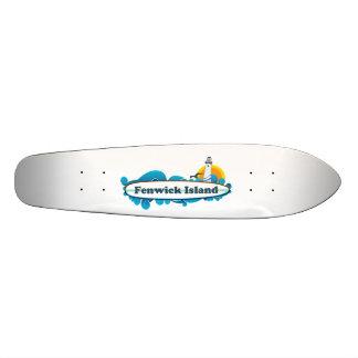 Fenwick Island. 20.6 Cm Skateboard Deck