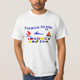 Fenwick Island DE Signal Flags T-Shirt