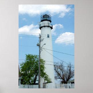 Fenwick Island Lighthouse Tower Poster