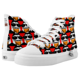 FEPE LOVES YOU High Top ZIPZ Shoes