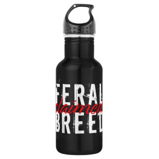 Feral Breed Claimed Water Bottle