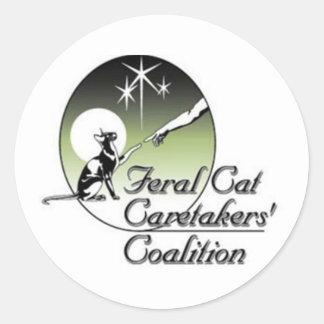 Feral Cat Caretakers Stickers