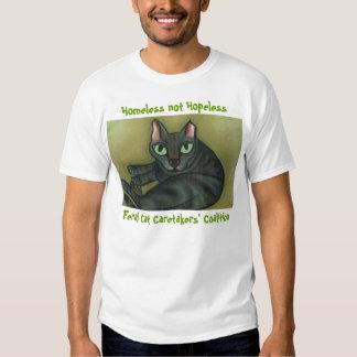 Feral cat, Feral Cat Caretakers' Coalition, Hom... Tshirt