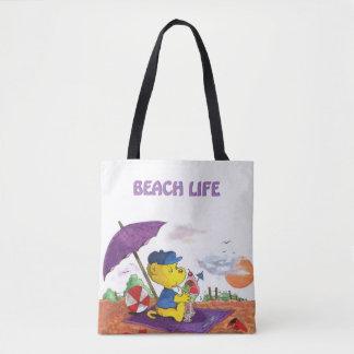 Ferald   Beach Tote Bag