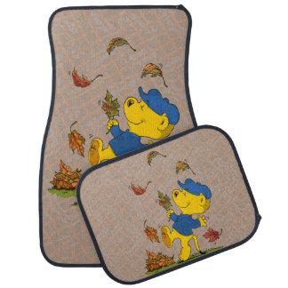 Ferald Dancing Amongst The Autumn Leaves Floor Mat