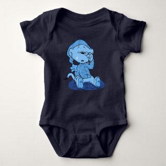 Ferald | Feeling Blue Baby Bodysuit