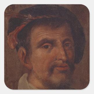 Ferdinand Columbus Square Stickers