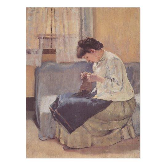 Ferdinand Hodler- Seamstress Postcard