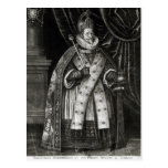 Ferdinand II  1622 Postcard