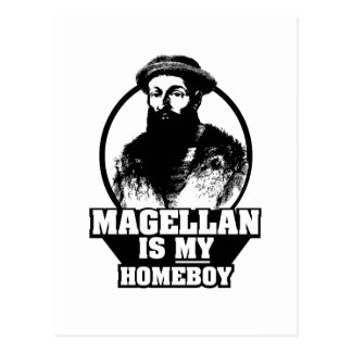 Ferdinand Magellan is my homeboy Postcard