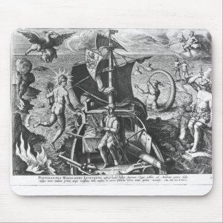 Ferdinand Magellan  on board his caravel, 1522 Mouse Pad