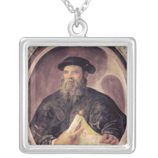 Ferdinand Magellan Silver Plated Necklace