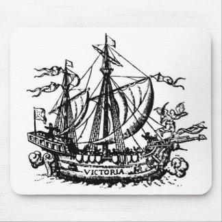 Ferdinand Magellan's boat 'Victoria' Mouse Mat