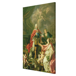 Ferdinand VI  as Patron Canvas Print