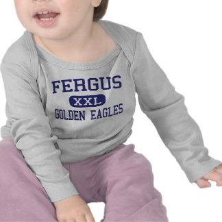 Fergus - Golden Eagles - High - Lewistown Montana T-shirt