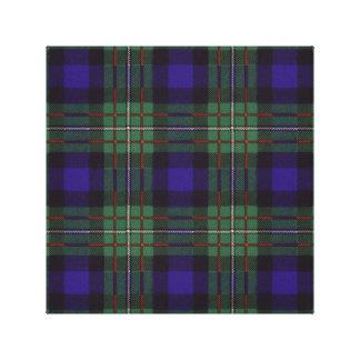Ferguson clan Plaid Scottish tartan Gallery Wrapped Canvas
