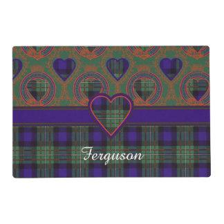 Ferguson clan Plaid Scottish tartan Laminated Place Mat