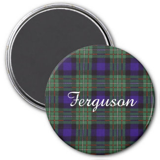 Ferguson clan Plaid Scottish tartan Magnet