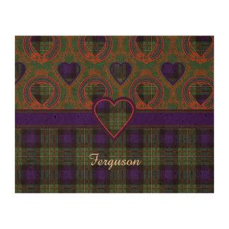 Ferguson clan Plaid Scottish tartan Cork Fabric