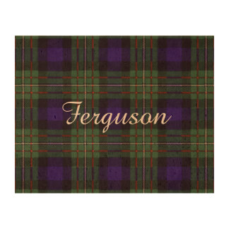 Ferguson clan Plaid Scottish tartan Photo Cork Paper