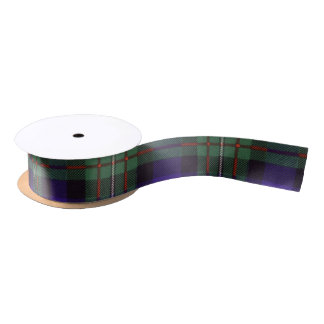 Ferguson clan Plaid Scottish tartan Satin Ribbon
