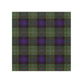 Ferguson clan Plaid Scottish tartan Wood Canvases